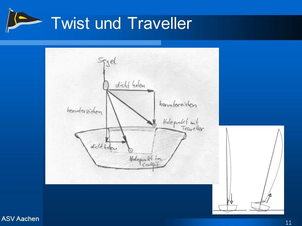 ASV Aachen 11 Twist und Traveller
