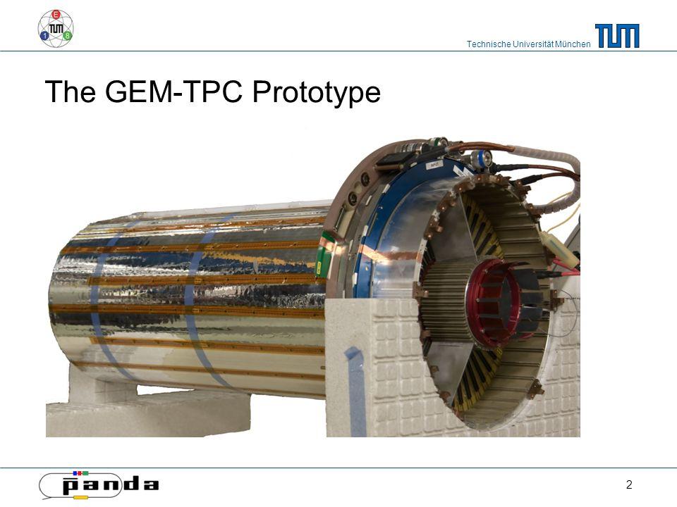Technische Universität München The GEM-TPC Prototype 2
