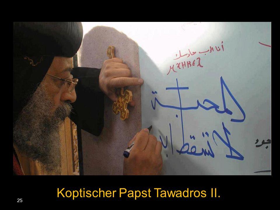 25 Koptischer Papst Tawadros II.