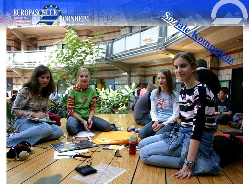 Europaschule Bornheim, Goethestr. 1, 53332 Bornheim Soziale Kompetenz