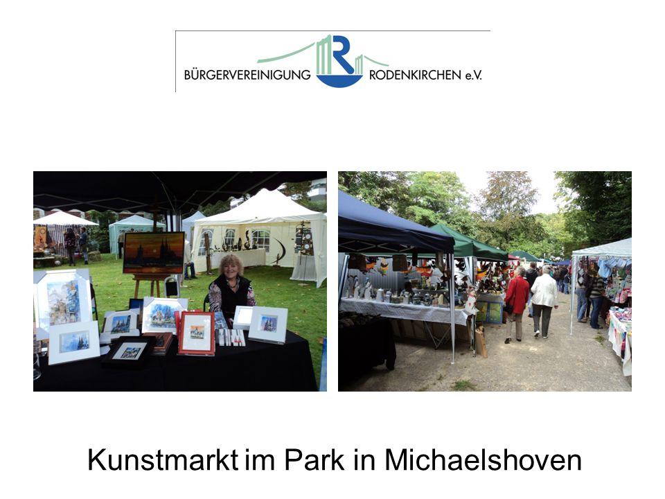 Kunstmarkt im Park in Michaelshoven