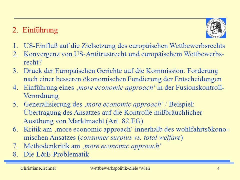 Christian KirchnerWettbewerbspolitik-Ziele /Wien5 1.