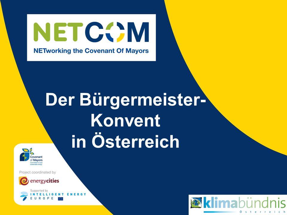 Der Bürgermeister- Konvent in Österreich