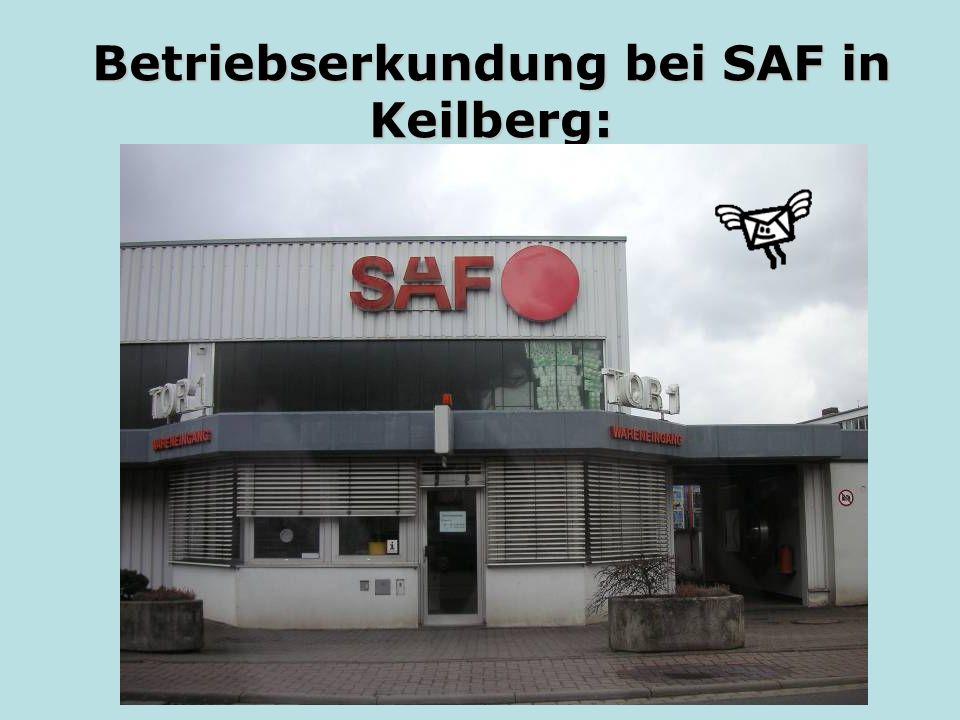 Betriebserkundung bei SAF in Keilberg: