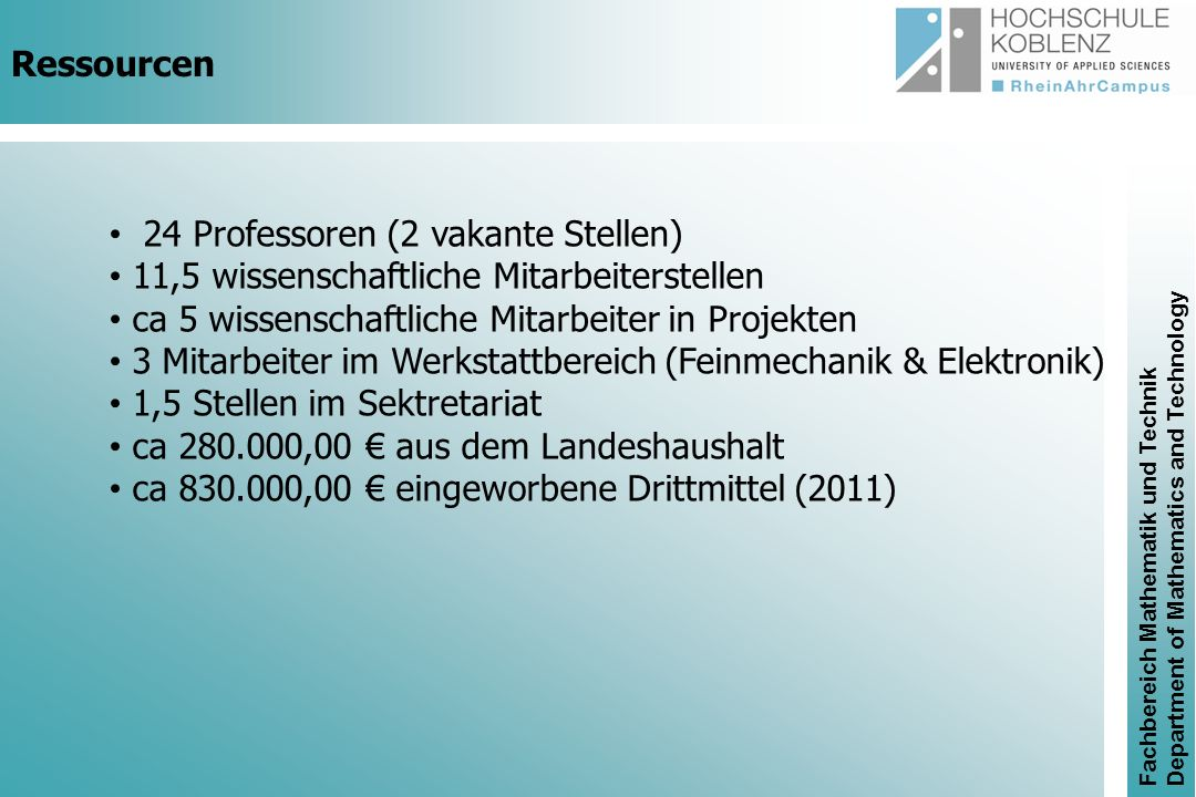 Gefödert durch (FKZ 13N11319) BioInjekt RheinAhrCampus Remagen - Hochschule Koblenz Prof.