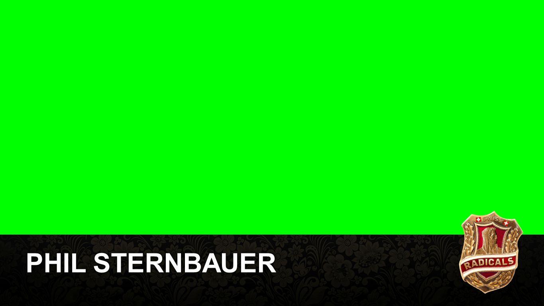 Phil Sternbauer PHIL STERNBAUER
