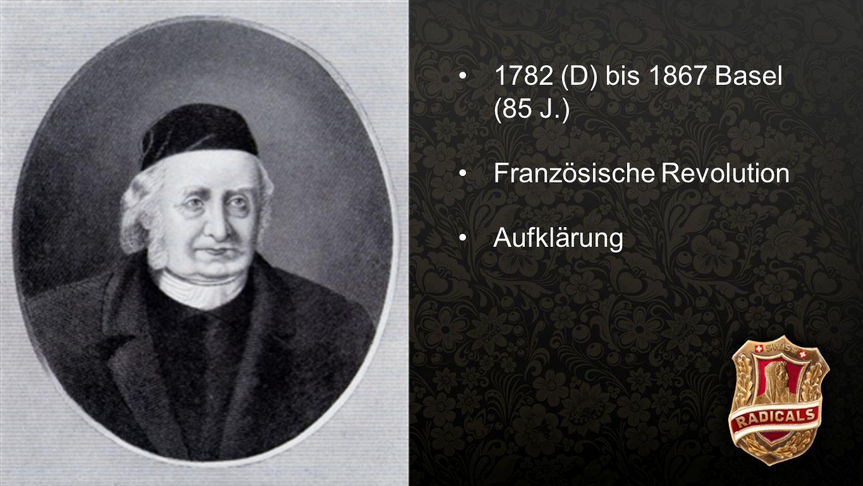 Spittler 4 1782 (D) bis 1867 Basel (85 J.) Französische Revolution Aufklärung 5.