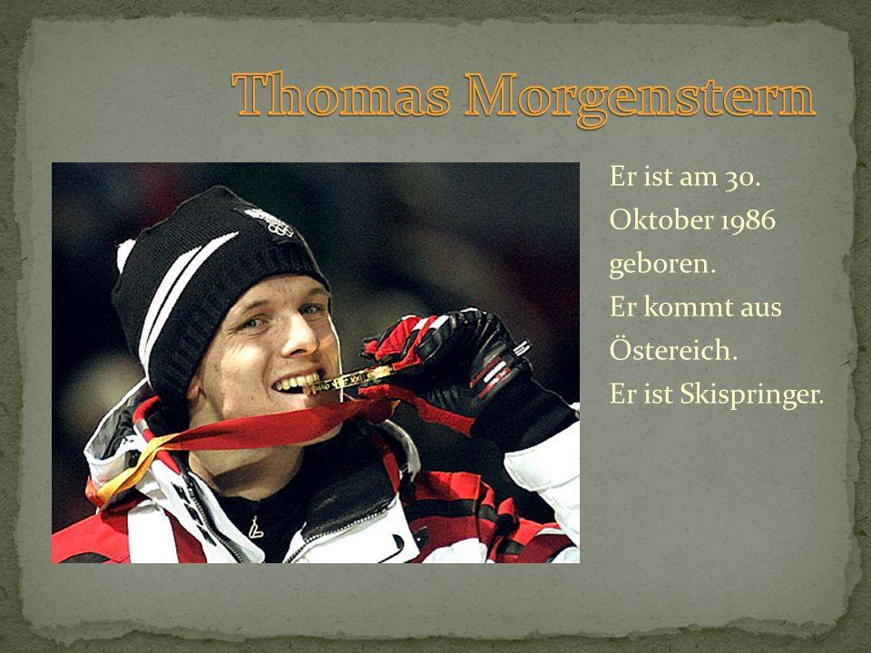 Er ist am 30. Oktober 1986 geboren. Er kommt aus Östereich. Er ist Skispringer.