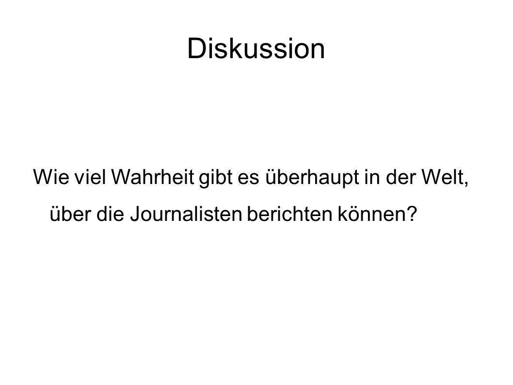 Quellen Donsbach, Wolfgang (2001): Wahrheit in den Medien- Über den Sinn eines methodischen Objektivitätsbegriffs Bilderquellen in der Reihenfolge ihres Auftretens: http://www.journalist.de/ratgeber/handwerk-beruf/menschen-und- meinungen/der- journalisten-mythos-nichts-als-die-wahrheit.html http://www.osthessen-sport.de/einzelansicht/news/2012/oktober/tv-quoten-im-keller- tagesschau-und-heute-verlieren-zuschauer.html http://www.bild.de/unterhaltung/tv/wetten-dass/wetten-dass-gewinnt-quoten-duell-mit- supertalent-26586724.bild.html http://www.tu-chemnitz.de/phil/leo/rahmen.phpseite=r_medn/bauch_boulevard.php http://www.zeitschriften-cover.de/bunte-cover-februar-2010-x1734.html http://www.online-abo-bestellen.de/Boulevardzeitungen-R10097-S4.html