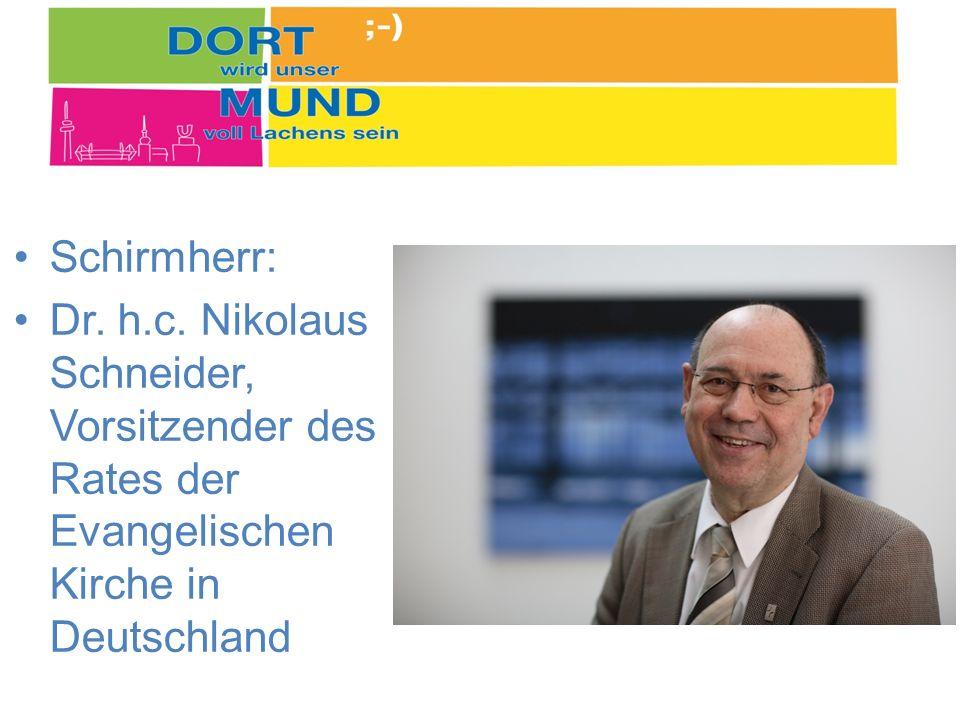 Schirmherr: Dr. h.c.