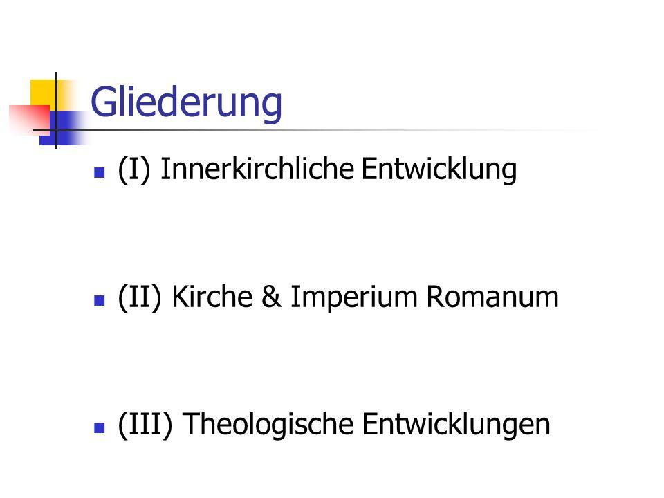 Frühe Ausbreitung (I) Die ersten Missionare Ausbreitung – schnell & spontan Unterstützende Faktoren Wallfahrten Imperium Romanum Griechisch