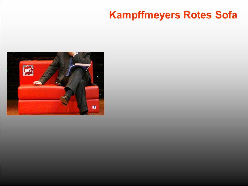 4 Kampffmeyers Rotes Sofa