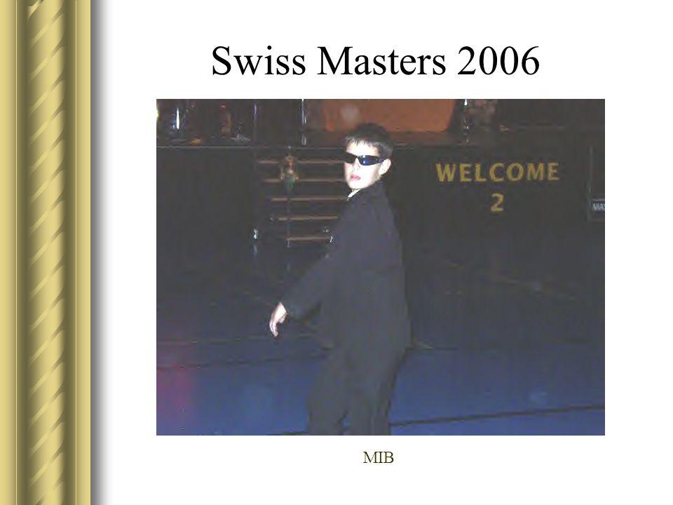 Swiss Masters 2006 MIB