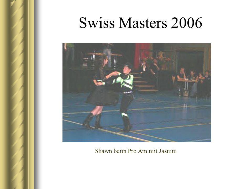 Swiss Masters 2006 Shawn beim Pro Am mit Jasmin