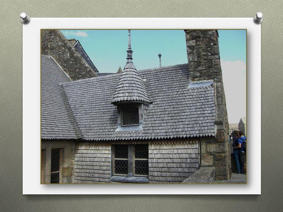 Die Abtei (Benediktiner Kloster) Mont-Saint-Michel wurde im 8.