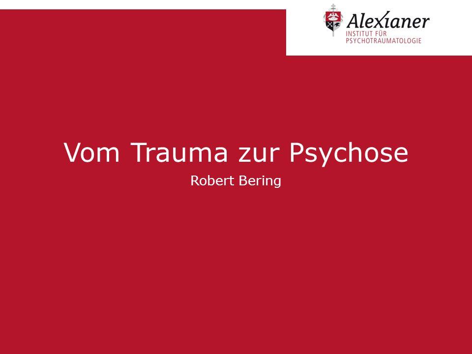 KriteriumPsychotische VerlaufsgestaltSchizophrene Störung TraumabiographieImmer auffälligPartiell auffällig, selten Typ I Traumatisierung Phänotyp Symptome 1.