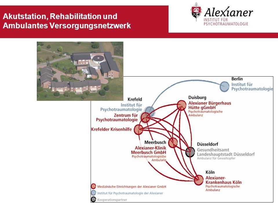Akutstation, Rehabilitation und Ambulantes Versorgungsnetzwerk