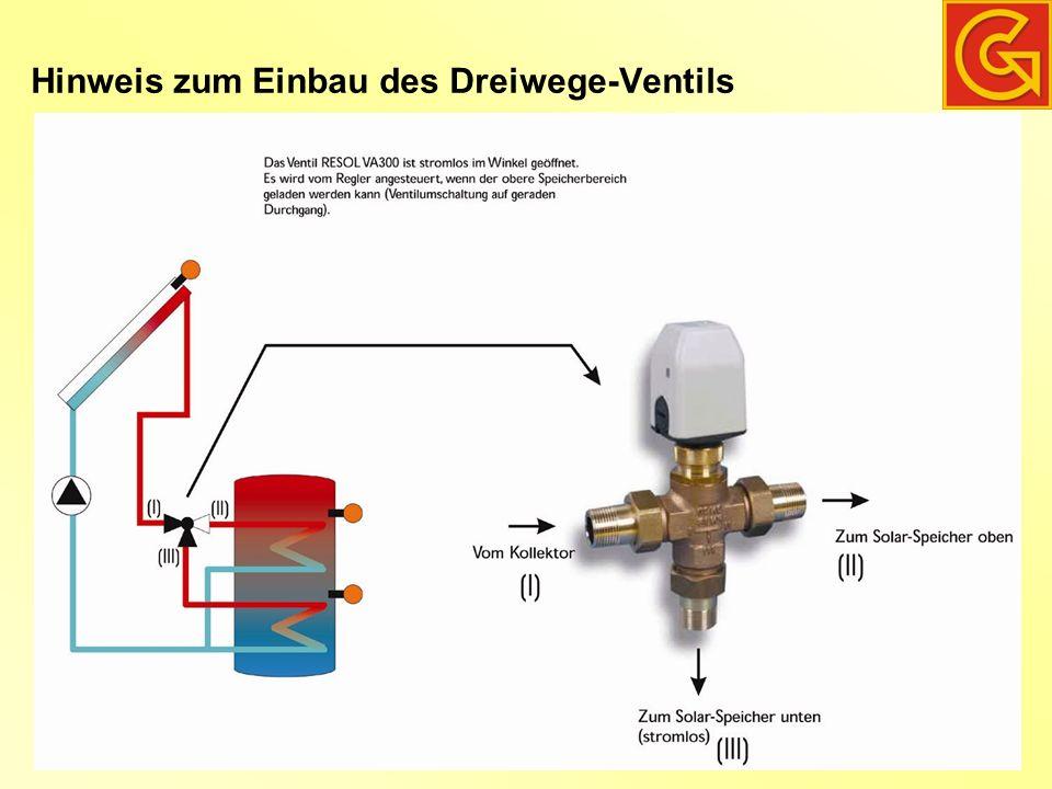 Kessel Anlage mit Frischwasserspeicher, und Rücklauf-Anhebung mit 3-Wege-Ventil Deltasol ES, Anl.