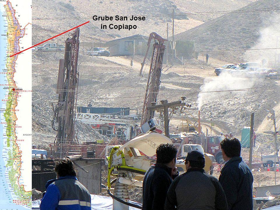 Grube San Jose in Copiapo