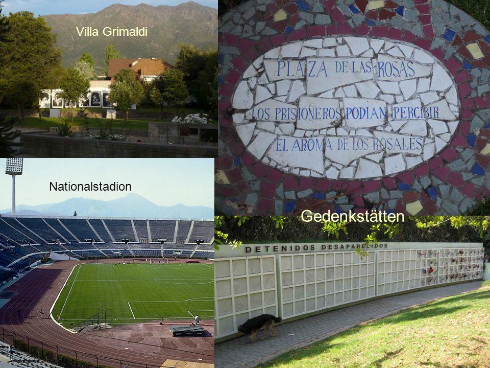 Nationalstadion Villa Grimaldi Gedenkstätten