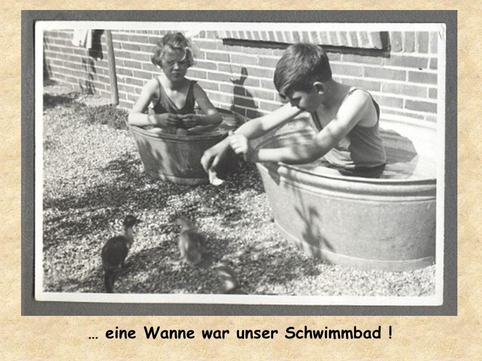 … heißes Wasser kam auch nicht aus dem Kran !