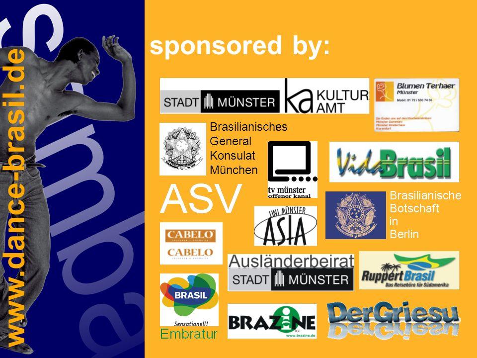 sponsored by: Brasilianisches General Konsulat München