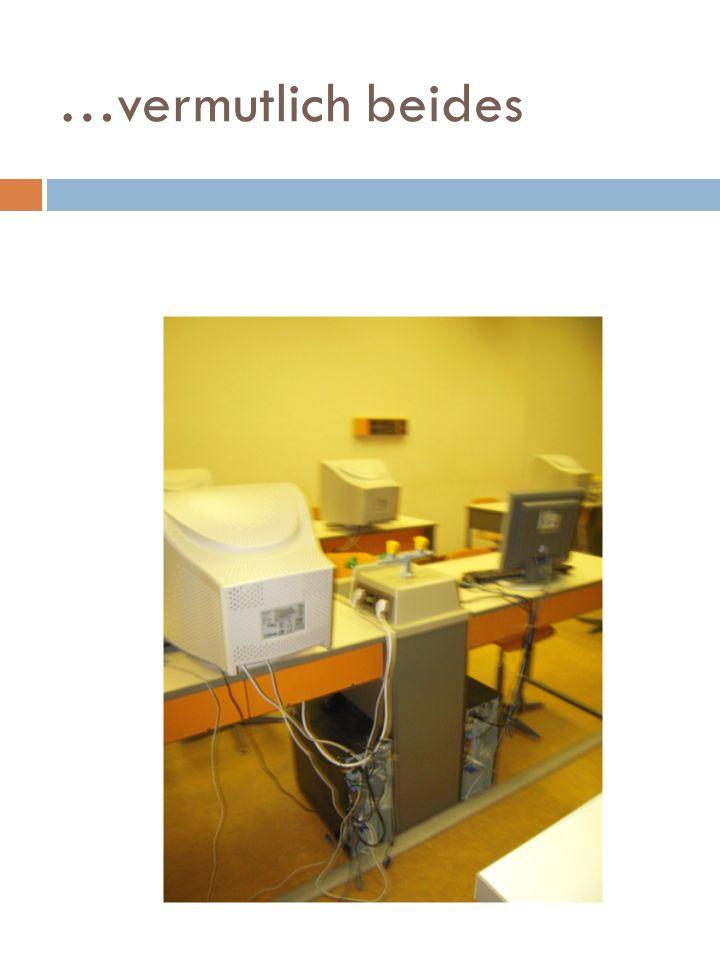 Physikraum oder PC-Raum
