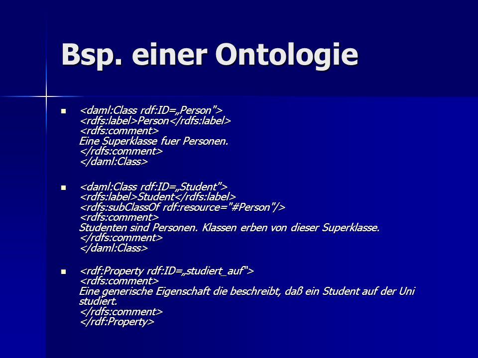 Tools für die Arbeit mit Ontologien Der Ontologieentwicklungsprozess Verfeinerung(3):