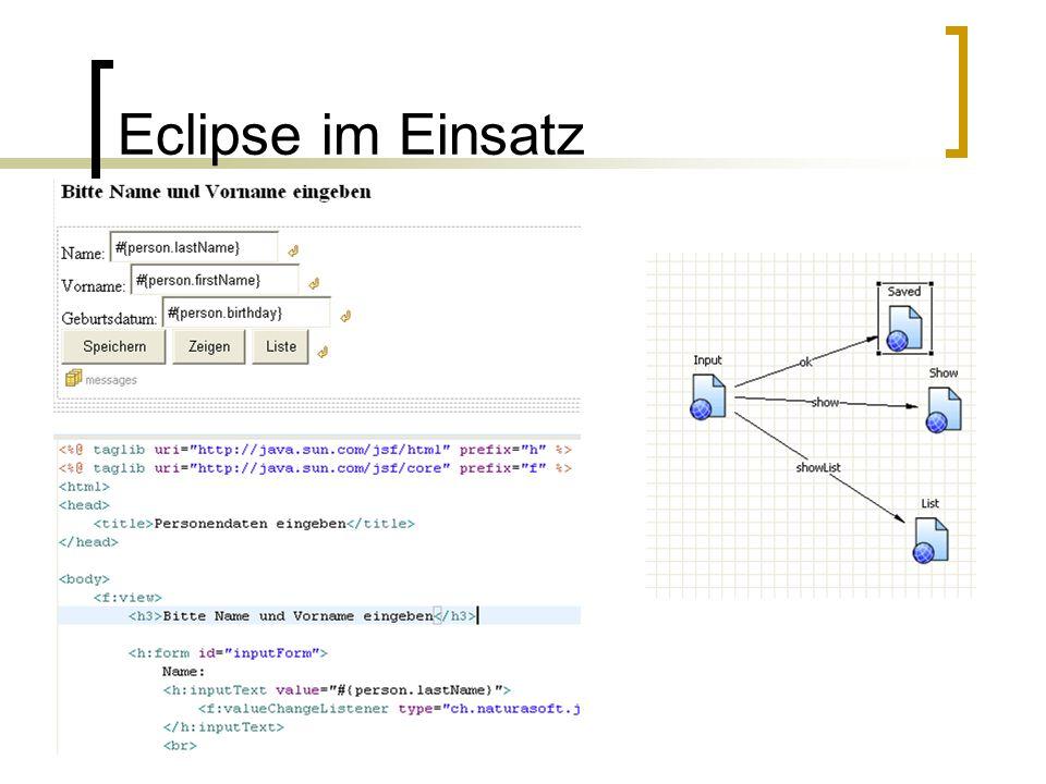 Eclipse im Einsatz
