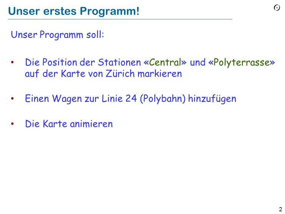 2 Unser erstes Programm.