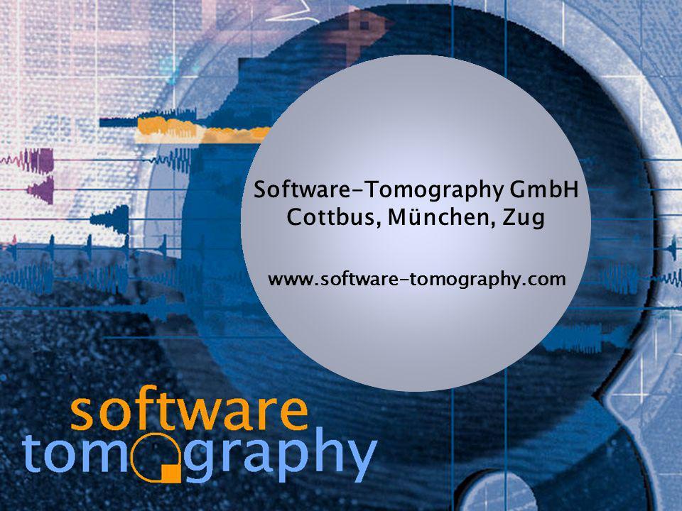 Dr. Walter BischofbergerCode wartbar: Qualität messen, Metriken www.software-tomography.com Software-Tomography GmbH Cottbus, München, Zug