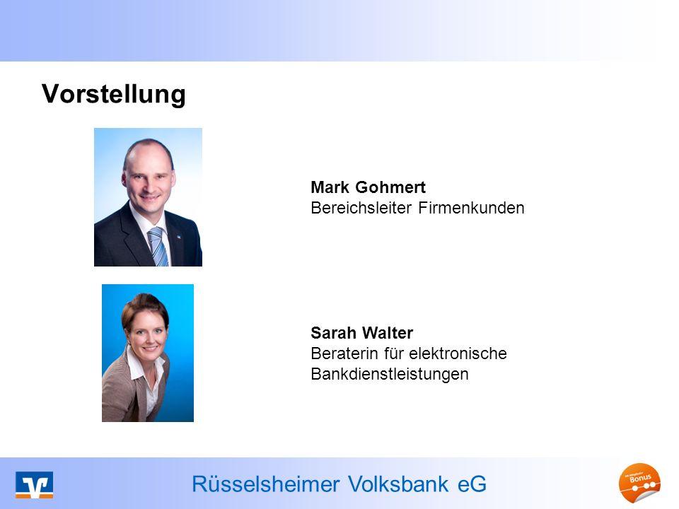 Rüsselsheimer Volksbank eG Agenda Stand 10/2013 3 Einführung SEPA-Überweisung (SCT) SEPA-Lastschrift (SDD) Erforderliche Maßnahmen