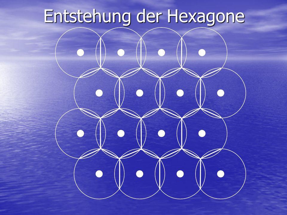 Entstehung der Hexagone
