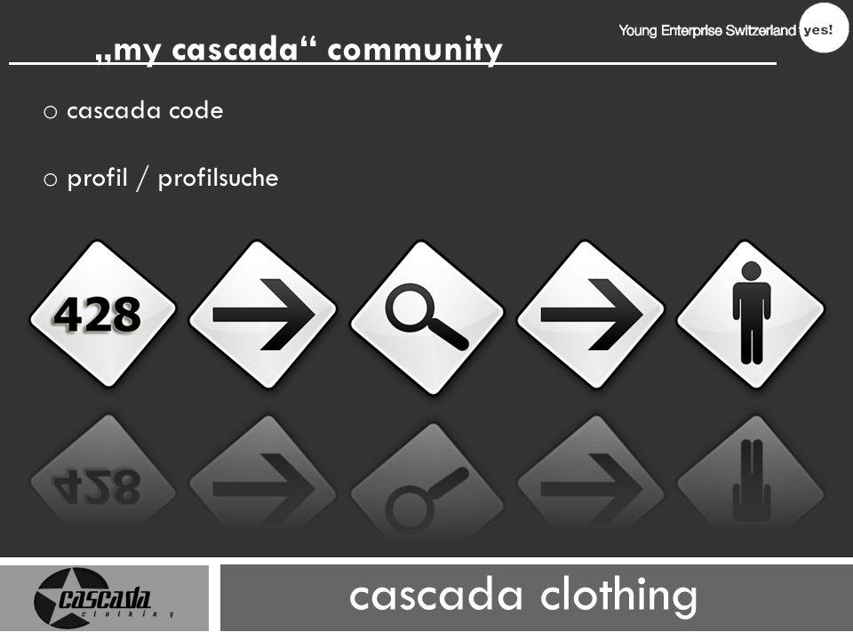 cascada clothing my cascada community o cascada code o profil / profilsuche