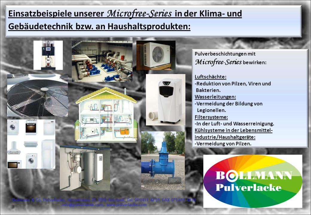 Bollmann & Co.Pulverlacke, Alleestrasse 21, 8580 Amriswil, Tel.