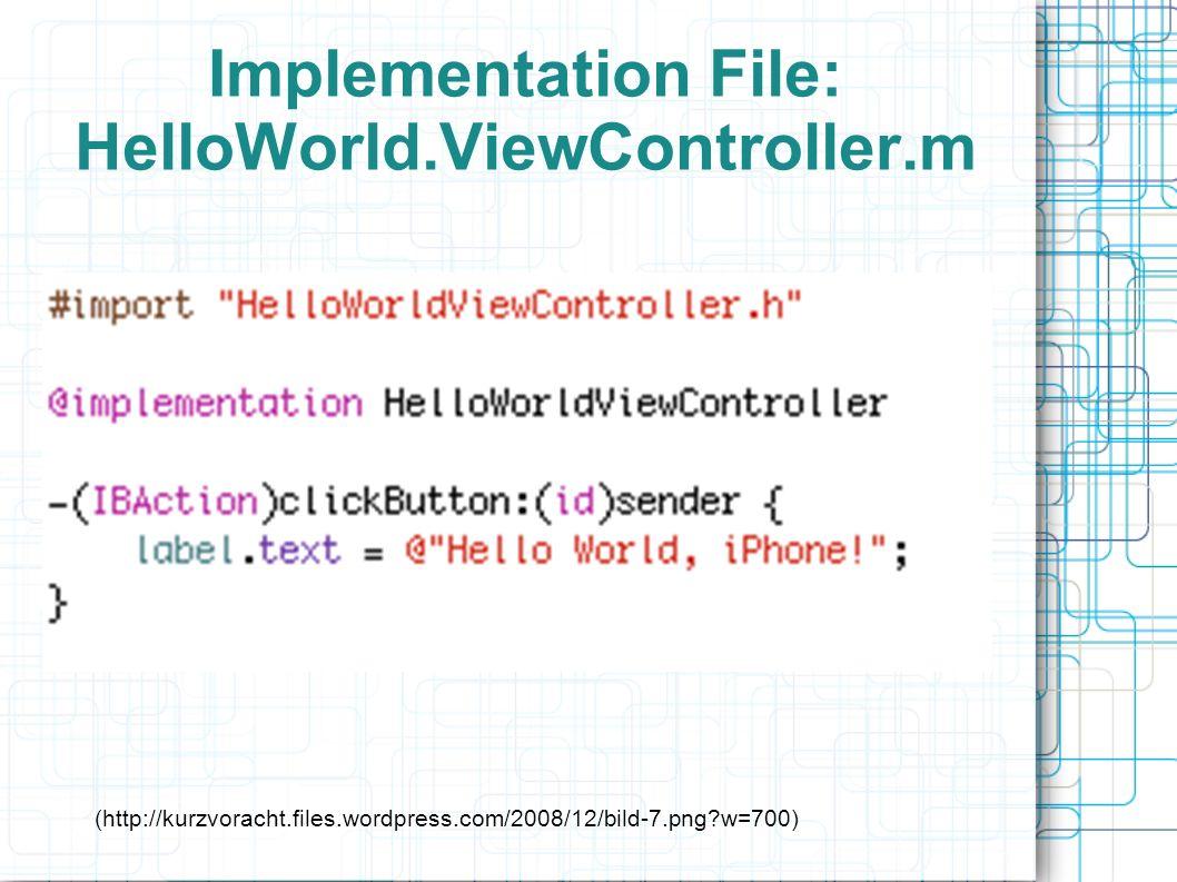 ViewController.h - (IBAction)handlePan:(UIPanGestureRecognizer *)recognizer; ViewController.m - (IBAction)handlePan:(UIPanGestureRecognizer *)recognizer { CGPoint translation = [recognizer translationInView:self.view]; recognizer.view.center = CGPointMake(recognizer.view.center.x + translation.x, recognizer.view.center.y + translation.y); [recognizer setTranslation:CGPointMake(0, 0) inView:self.view]; }
