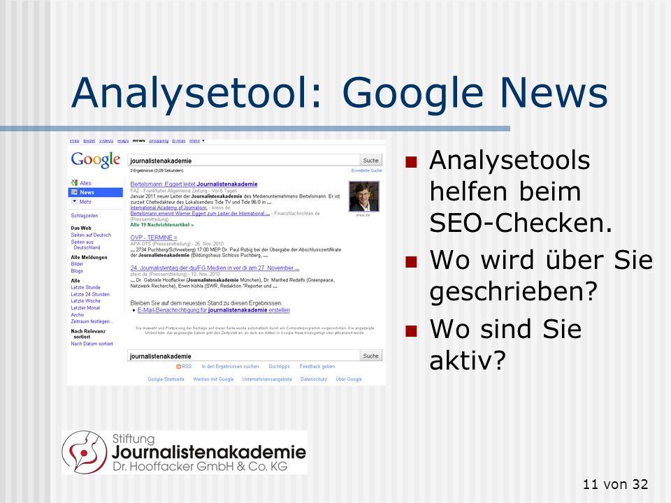 10 von 32 Warum das alles? Social-Media-Netzwerke werden immer wichtiger für die Suchmaschinenoptimierung (SEO). http://t3n.de/news/diese-faktoren- be