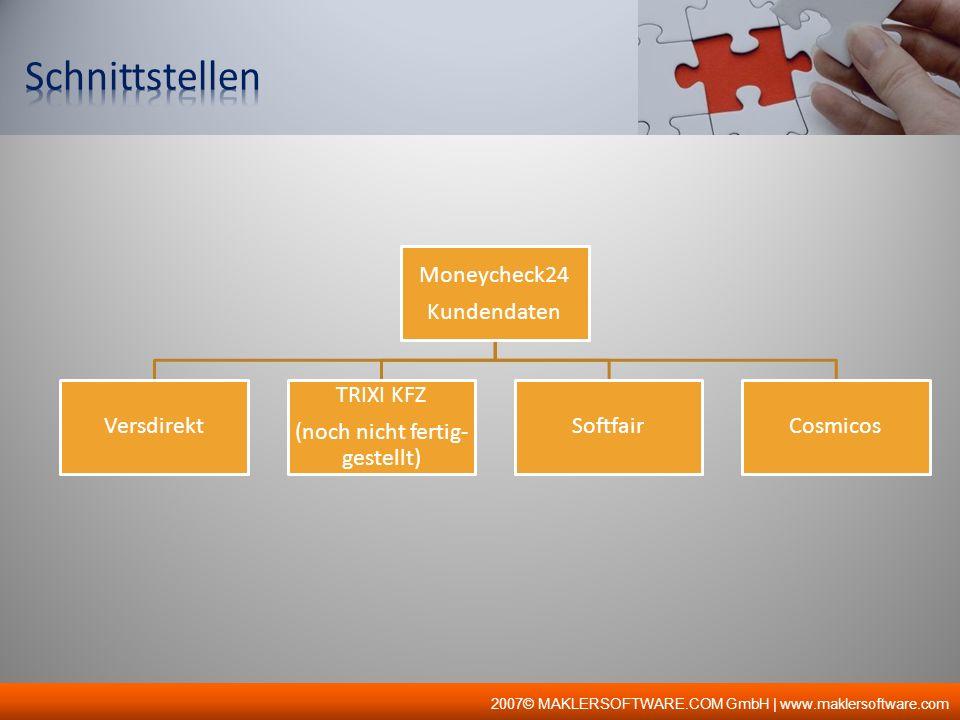 2007© MAKLERSOFTWARE.COM GmbH | www.maklersoftware.com Wer sich für META-Portale der MSC entscheidet, entscheidet sich für Sicherheitssysteme und Datenschutz auf höchstem Niveau.