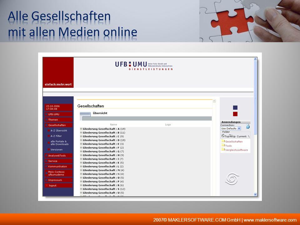 2007© MAKLERSOFTWARE.COM GmbH | www.maklersoftware.com