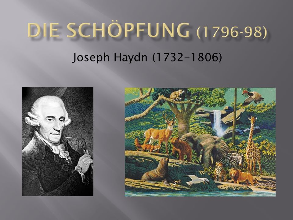 Joseph Haydn (1732-1806)