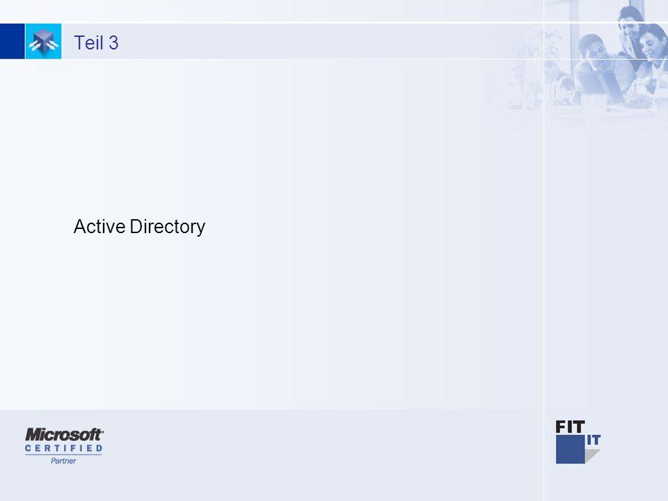 12 Fazit Keinen grossen Impact auf das Konzept eines Active Directory Umbenennen einer Domäne bedingt möglich Verbesserungen der Administration Schlankere Replikation Migration von NT4 sollte unbedingt auf Windows Server 2003 erfolgen