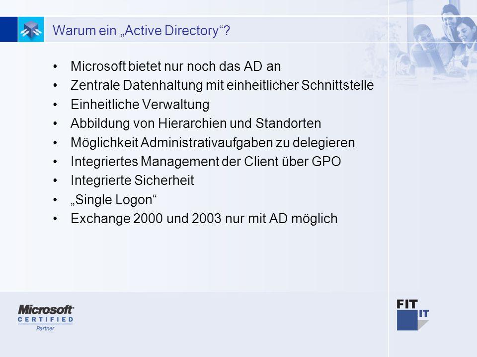 13 Warum ein Active Directory.