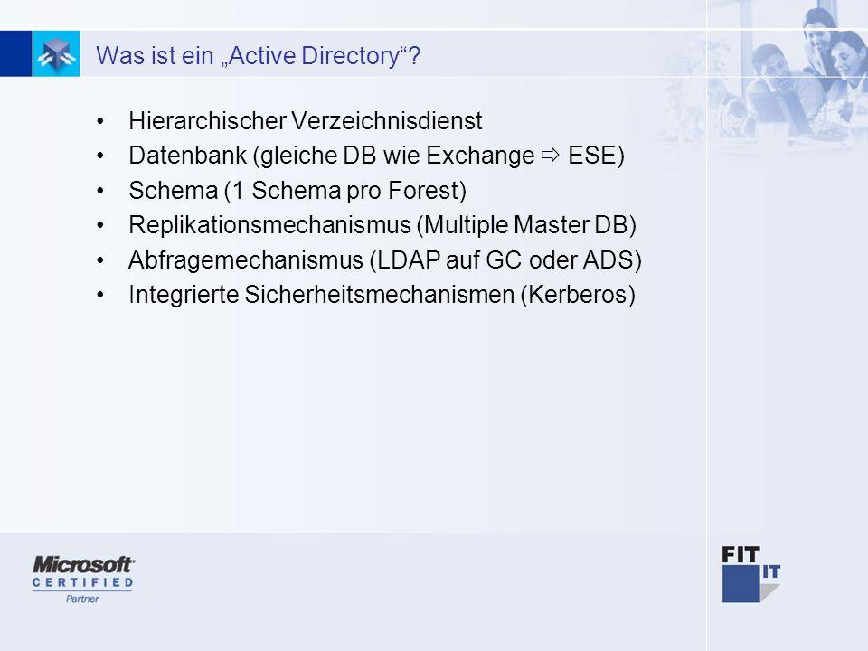 2 Was ist ein Active Directory.