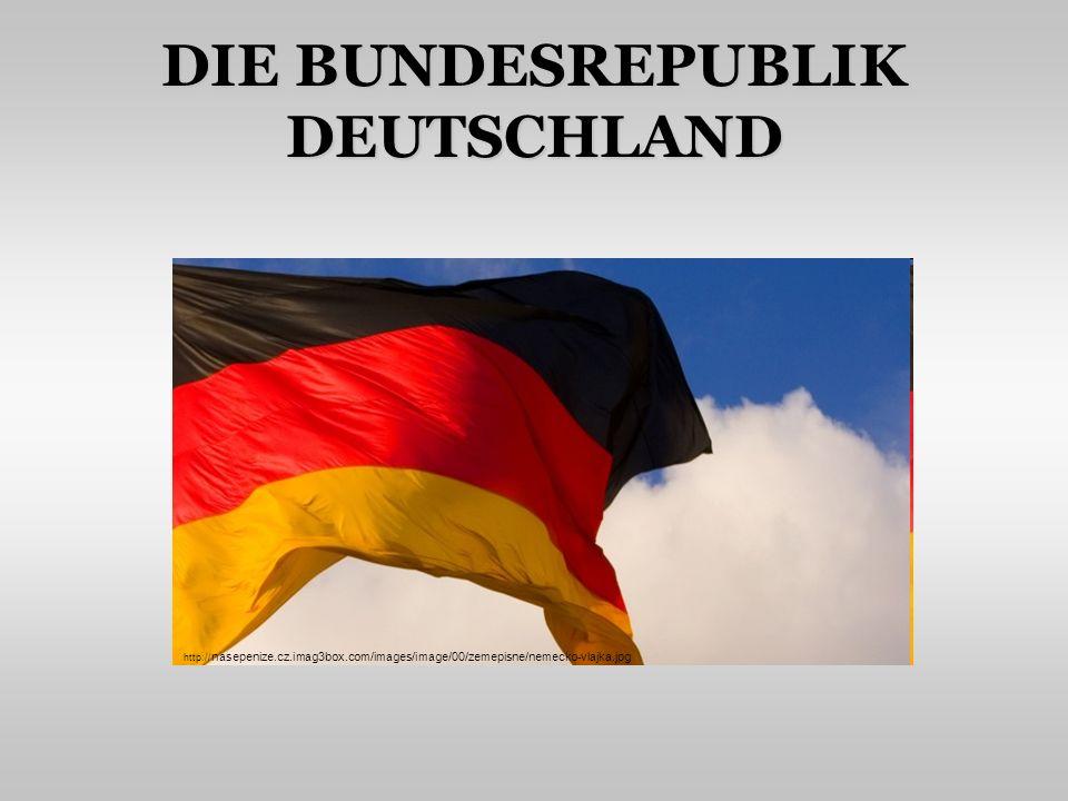 INHALT Nachbarn, Grenze Staatsform Staatssymbole Natur Wirtschaft, Industrie Persönlichkeiten Internet-Quiz (Was ist typisch für Deutschland?) http:// img.ihned.cz/attachment.php/240/35033240/otv58BCEHJLMNOl6cdfghpqry029ARVn/Nemecko.jpg
