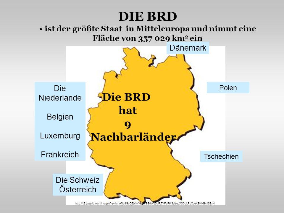 STAATSFORM Deutschland ist ein föderativer Staat in Mitteleuropa besteht aus 16 Bundesländern die Staatsgründung – im Jahr 1990 (Im Zusammenhang mit der Vereinigung entstanden auf dem Gebiet Ostdeutschlands fünf neue Bundesländer.