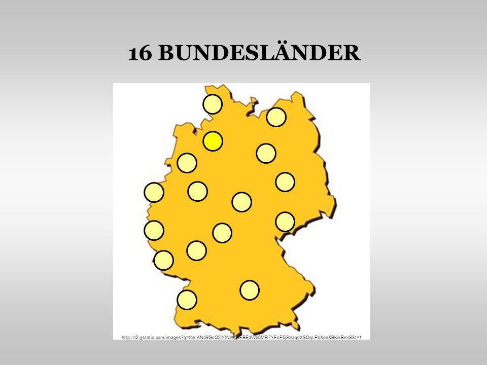 Mecklenburg - Vorpommern Schleswig-Holstein BerlinHamburg Brandenburg Sachsen-Anhalt Freistaat Thüringen Freistaat Sachsen Baden - Württemberg Freistaat Bayern Bremen Niedersachsen Nordhein-Westfalen Hessen Rheinland-Pfalz Saarland EINZELNE BUNDESLÄNDER http://t2.gstatic.com/images?q=tbn:ANd9GcQ2jYtNWg9FBEdWb5MR7YFcF6jSzlaqdXSOqLPbXoeXBKlkBmlS&t=1