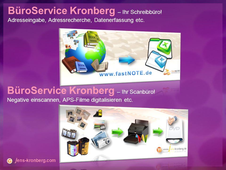 BüroService Kronberg – Ihr Schreibbüro. Adresseingabe, Adressrecherche, Datenerfassung etc.