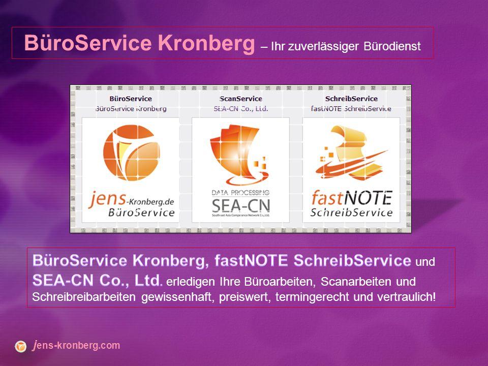 BüroService Kronberg – Ihr zuverlässiger Bürodienst