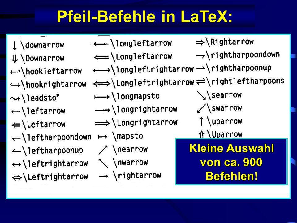 Neues Steuermodul f. LaTeX W. Schäffler und R. Bernd W. Schäffler und R. Bernd Modifikation: U. Kalina