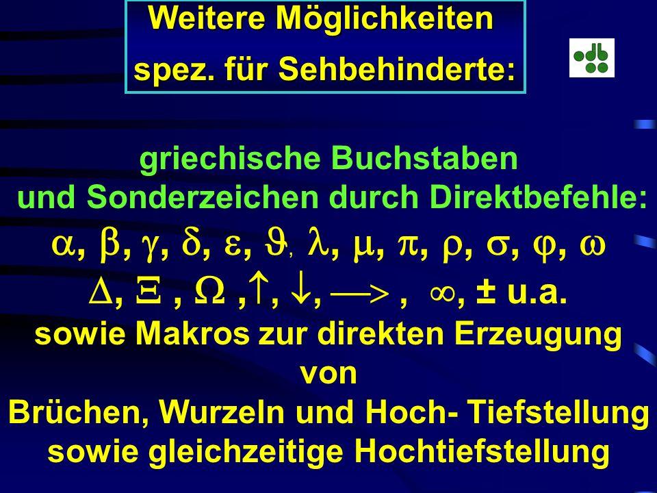 LiTeX: LiTeX: {EQ a^2 + \f(1;2) + \r(3;27)} {EQ a^2 + \f(1;2) + \r(3;27)} Volle Kontrolle durch Jaws u. Zoomtext! LaTeX: LaTeX: \[a^2 + \frac{1}{2} +